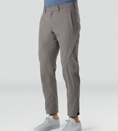 Apparat Pant Men's Trim fitted, articulated pants with cuff adjuster, constructed with a cotton/nylon canvas for durability and resilient stretch fabric for comfort and ease of motion. Sport Outfits, Casual Outfits, Men Casual, Oversized Fashion, Outdoor Pants, Men Trousers, Cycling Outfit, Overall, Men Dress