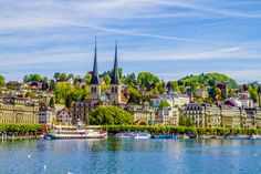 By a hobby fotografer Kirchen, Cathedral, Building, Travel, Life, Lucerne, Viajes, Buildings, Cathedrals