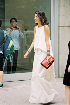 Vanessa Jackman: New York Street Style SS 2014....Leandra
