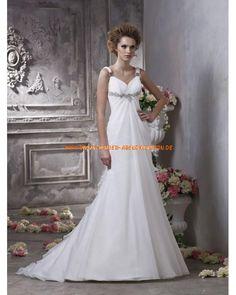 Uniques und designes Brautkleid A-Linie aus Chiffon 2013
