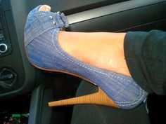 Ladies High Heels Perfect To Wear With Jeans Click The Picture To See more