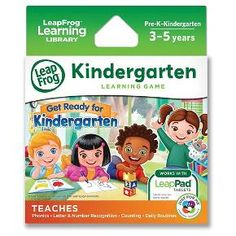 LeapFrog Learning Game: Get Ready for Kindergarten (for LeapPad tablets and LeapsterGS) : Target