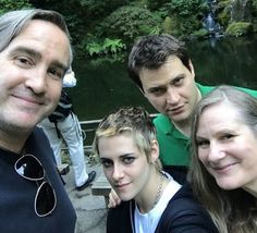 Tumblr Kristen with author Lidia Yuknavitch, Andy Mingo and Michael Pruss in Portland