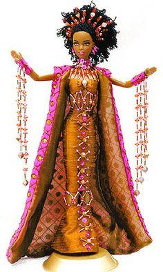 OOAK Barbie NiniMomo's Miss Tanzania 2011