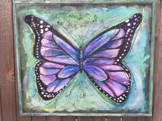 "Recycle Old window Screen hand painting ,It can be use To decorate the interior and exterior,This is a true one of a kind piece. 34.5 Inches X 29 Inches ---size may very because this item is a recycled window screen and its made to order!! ""There is nothing in a caterpillar that tells you its going to be a butterfly."" ― Buckminster Fuller. I will personalize this piece however you wish – names, dates, bible verse, etc. to make this piece special for you or gift. I can also create a custom..."