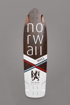 Norwaii Longboards - Olav V2 Crazy cool design.