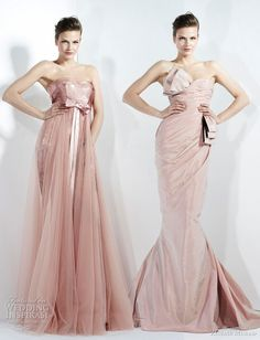 love the colour of these dresses <3