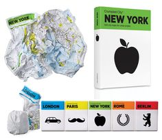 Crumpled City Maps are printed on lightweight, flexible material that you just stuff into your pocket, handbag, or the maps draw-string pouch!