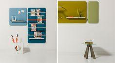 Design Line Office - Products: Robert Bronwasser, Cascando, Pillow - Storage
