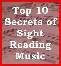 learning how to read piano music in 10 minutes