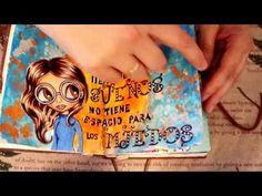 Sementes de papel: Mi libreta de Art Journal y mis trabajos de DoodleDigiStamps