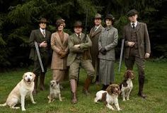 Downton Abbey, tweed, hunting, and dogs. Downton Abbey Costumes, Downton Abbey Fashion, Matthew Crawley, Robert Crawley, Matthew Goode, Downton Abbey Series, Downton Abbey Episodes, Hugh Bonneville, Dowager Countess
