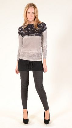 Tie Dye for Fall? Young Fabulous & Broke Makes it Look Chic