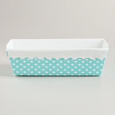 Aqua Dots Loaf Pans, Set of 6 {world market}