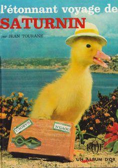 Le canard Saturnin, une page maculée de tendresse venue des années 60
