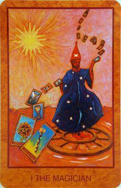 Tarot de St. Croix - 78 cards deck by Lisa de St. Croix.
