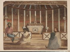 Roman Catholic chapel Otumoetai | Collections Online - Museum of New Zealand Te Papa Tongarewa Roman Catholic, Religious Art, New Zealand, Museum, Christian, Collections, Painting, Catholic, Lds Art