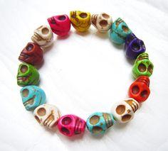 bridesmaid giftsbangle bracelet beadwork braceletchain by Arkpearl, $2.99