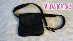 Volcanic Rock with Lid - The ideal fashion bumbag for festivals and traveling. Handmade from genuine leather. Volcanic Rock, Festivals, Traveling, How To Wear, Handmade, Bags, Accessories, Design, Style