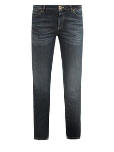 Weekend by MaxMara Calabra mid-rise cropped skinny-leg jeans