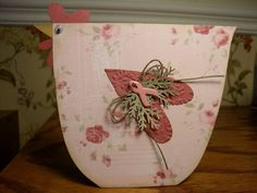 Pink Lady!! by mitchygitchygoomy - Cards and Paper Crafts at Splitcoaststampers (cutest chicken card)