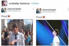 Jay is proud, Louis.