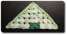 Triangle Granny - Made in K-town: Beyond the Square: Motif #61