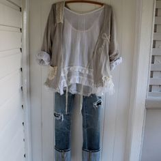 Cotton Voile Longsleeve Top Made to Order por MegbyDesign en Etsy, $165.00