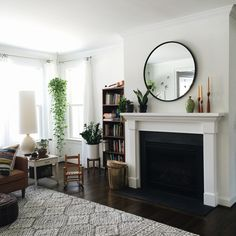 New Instagram Living Room Mirrors Above Fireplace Decor Mirror Over Fireplace