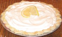 """my aunt's """"famous (really) sour cream lemon pie"""" Yum much? Whipped Cream, Sour Cream, Pie Shell, Sweet Tooth, Lemon, Pie Pie, Tooth Fairy, Eat, Cooking"""