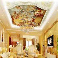 3D Angel ceiling God art 0759 Wall Paper Wall Print Decal Wall Deco AJ WALLPAPER
