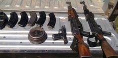 Capturan a par de sujetos que atacaron a Estatales en Madera; Les aseguraron una .9mm y 2 fusiles | El Puntero