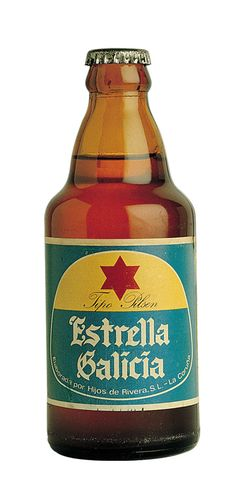Old Estrella bottle