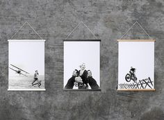 Forget big, bulky and expensive frames. This clever frame makes hanging your prints and posters effortless using hidden magnets. Quick & easy framing by THABTO Poster Prints, Framed Prints, Poster Frames, Magnetic Frames, Hanging Posters, Birch Ply, Central Saint Martins, Perfect Foundation, Neodymium Magnets
