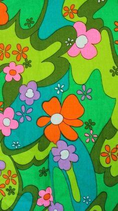 Hippie Wallpaper, Retro Wallpaper, Aesthetic Iphone Wallpaper, Flower Wallpaper, Aesthetic Wallpapers, Wallpaper Backgrounds, Kawaii Wallpaper, Collage Mural, Bedroom Wall Collage