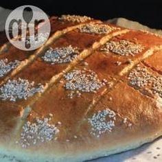 Algerisches Brot (Khobz el Dar) / Das algerische Brot, auch als Hausbrot (Khobz el Dar) bezeichnet, ist einfach zu machen und muss nicht geknetet werden. Es schmeckt am besten ganz frisch.@ de.allrecipes.com