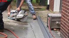 Channel Drain, Driveway Drain, Install Driveway Drain, Drainage Solutions, Remodeling, Home Improvement, Channel, Garage, Diy Projects, Design Ideas, Outdoors