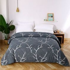 Great deals and amazing offers: Shop Comforters Online from WoodenStreet Wooden Street, Comforters Online, Buy Bed, Cotton Bedding, Double Beds, Bed Covers, Comforter Sets, Bed Sheets, Home Furnishings