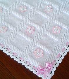 the knit baby blanket… – Sorella & Company Baby Knitting Patterns, Crochet Blanket Patterns, Baby Patterns, Thick Knitted Blanket, Knitted Baby Blankets, Baby Afghan Crochet, Baby Afghans, Handmade Baby Blankets, Crochet Baby Girls