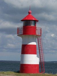 Grisetå Odde fyrtårn - Denmark - Coastal Lighthouses on Waymarking.com