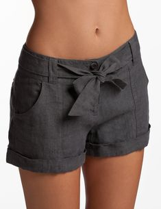 I love these shorts Gunpowder Whitsunday Shorts - Linen Shorts for Women | Island Company