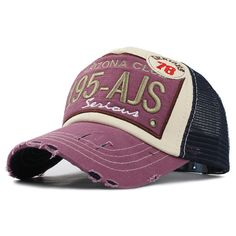 974ae579dd9 Brand Baseball Mesh Cap Men Women Cotton Fitted Dad Hat Embroidery Casual  Adjust  Casual