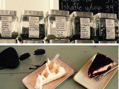 Dejlige usunde kager og skønt selskab
