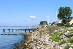 Cykeltur till Skåne 31 juli - Fortuna strand