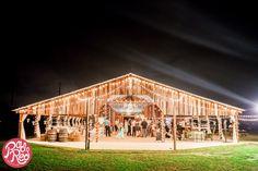 Wishing Well Barn, Plant City, Florida, Vintage Barn, Florida Barn Wedding, Rad Red Creative, Twinkle lights, Shabby Chic Wedding