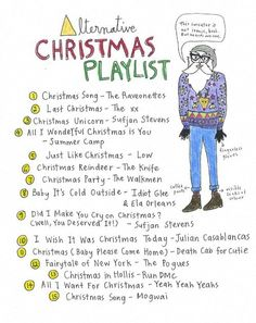 alternative xmas playlist worth checking outmight be some gooddifferent tunes - Best Alternative Christmas Songs