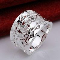 Fine or Fashion:Fashion Item Type:Rings Rings Type:Bridal Sets Style:Trendy Gender:Unisex Setting Ty