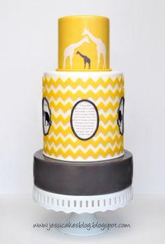 Jessicakes: Chevron Inspired Safari Themed Baby Shower
