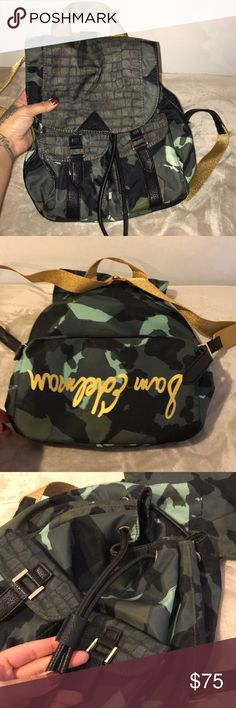 Sam Edelman Back Pack (army print) This backpack is just adorable and totally in right now! Perfect gift for back to school fashionistas Sam Edelman Bags Backpacks