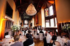 Classical set up silver candelabras, #Adare Manor